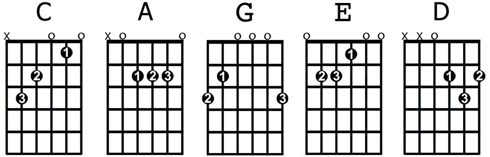 Beginners chords