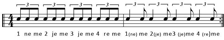 shuffle-ritme