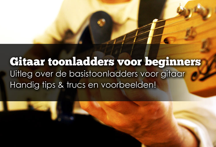 gitaartoonladders leren spelen