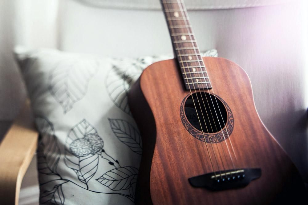 weinig tijd gitaar leren spelen