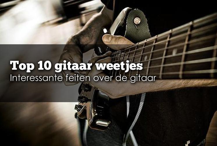 gitaar feiten, gitaarles in zevenaar