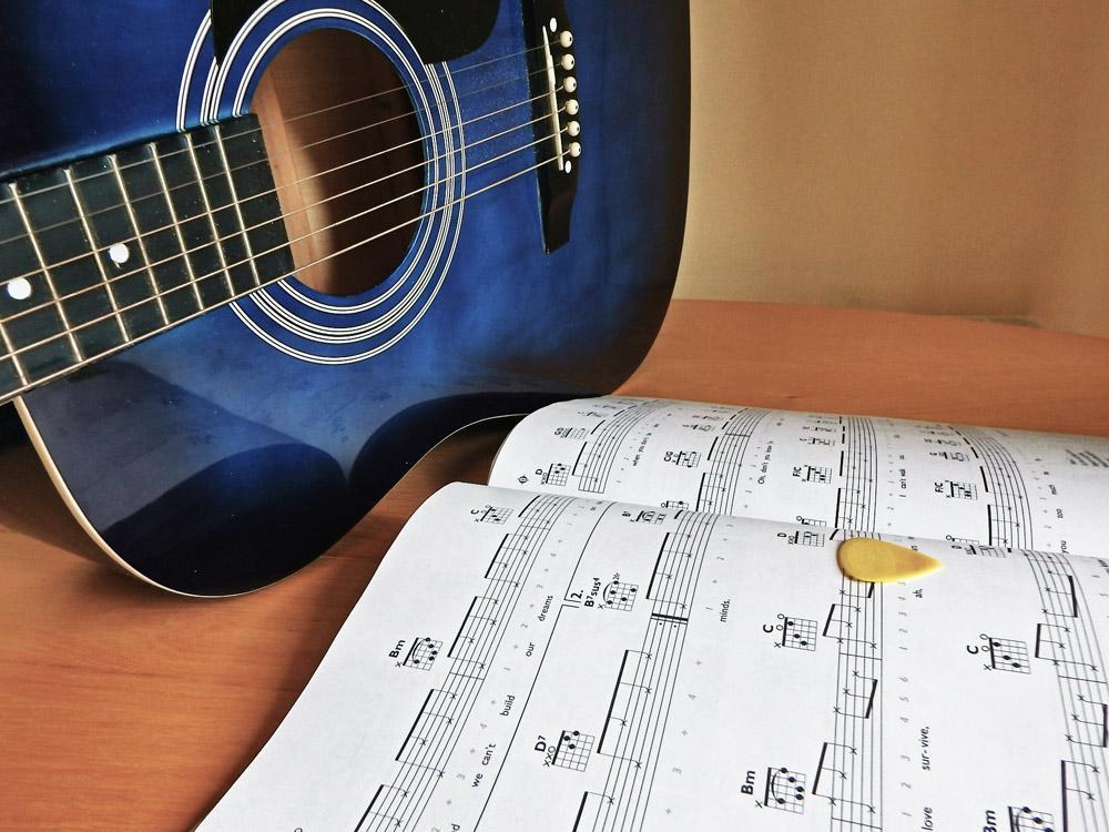 gitaarnummers instuderen
