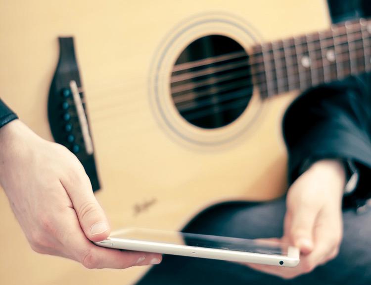 mobiele applicaties voor gitaristen