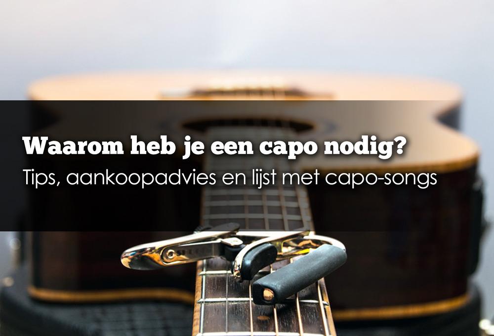 capo voor gitaar kopen