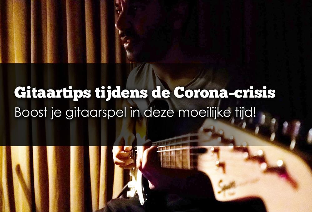 gitaar thuis oefenen corona crisis